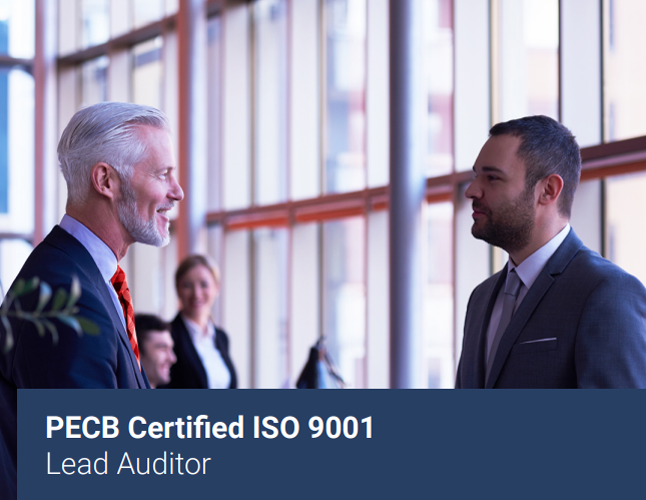 PECB Certified ISO 9001 – Lead Auditor
