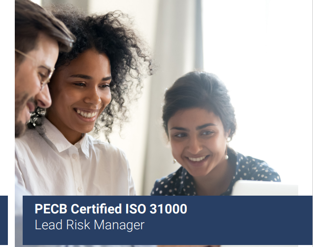 PECB Certified ISO 31000 – Lead Risk Manager